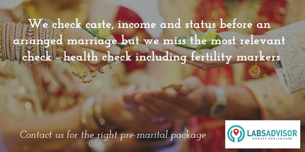 Pre-marital check