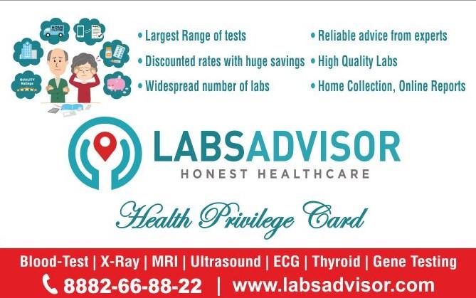 LabsAdvisor Health Card