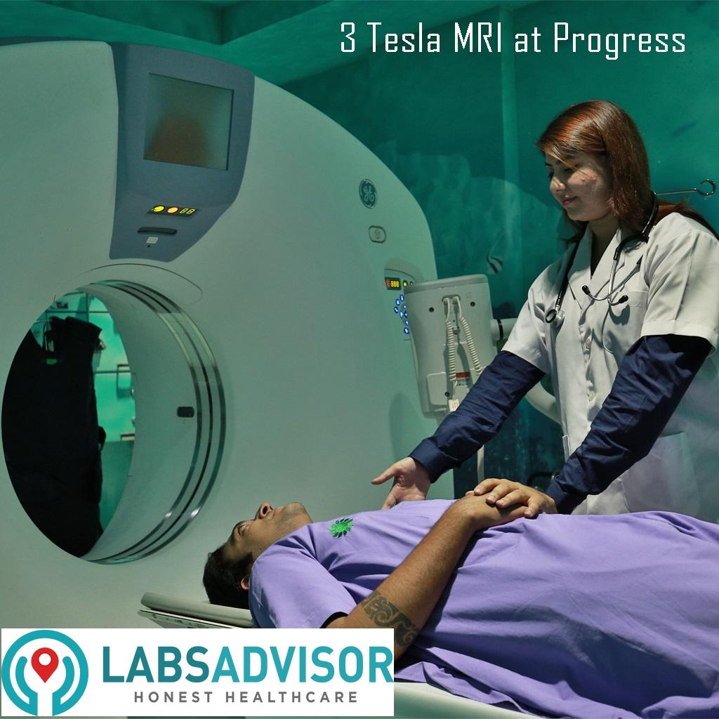 3 Tesla MRI in Delhi by LabsAdvisor