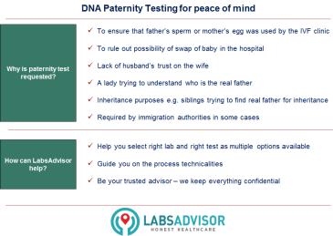 Paternity DNA Test LabsAdvisor