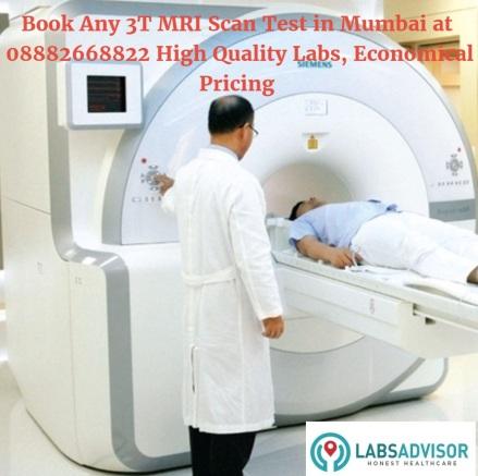 3 Tesla MRI Scan in Progress