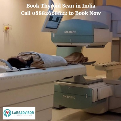 Book Thyroid Scan in India