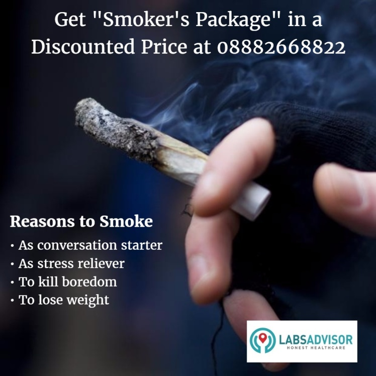 Book Smoker's Package in Delhi