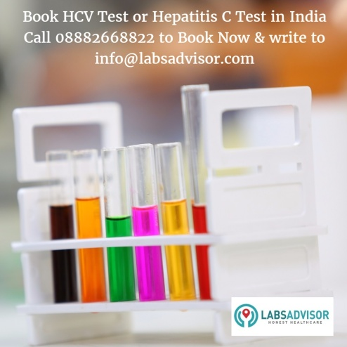Anti HCV Test Cost in Delhi