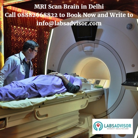 MRI Scan Brain Cost in Delhi