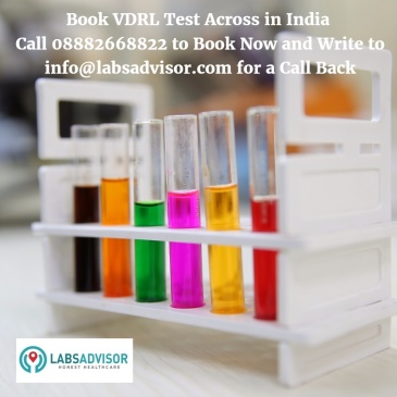 Cost of VDRL Test in Delhi