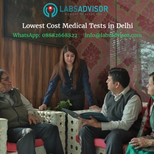 Get lowest prices medical tests in Delhi / NCR