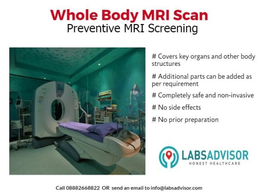 Full Body MRI Scan Cost in Delhi