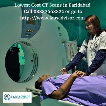 CT Scan Cost in Faridabad