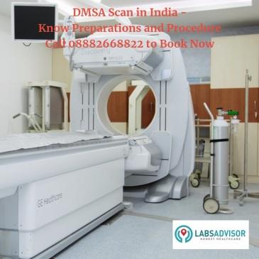 DMSA Scan cost in Delhi