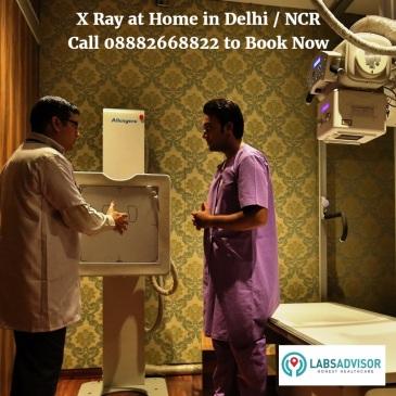 X Ray Facilities at Home in Delhi